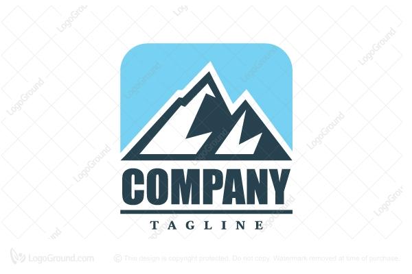 Mountain Range Logo