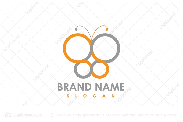 Logo for sale: Infinity Butterfly Logo