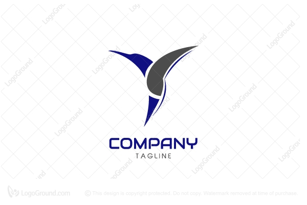 Logo for sale: Humingbird Logo
