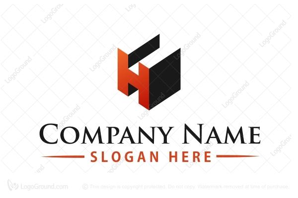 Buy Logos   Logo...H Logo 3d