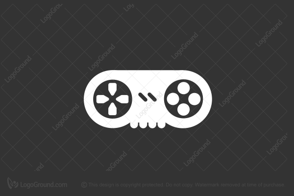 Logo for sale: Game Over Logo