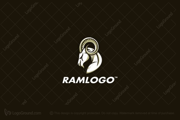 Logo for sale: Ram Logo
