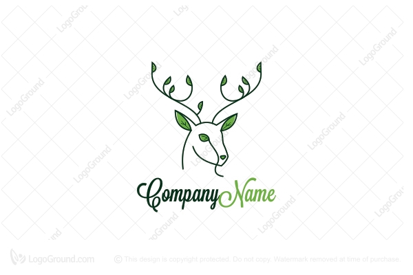 "Deer Logo"" by AteljeStudio. Copyright 2015 AteljeStudio: www.logoground.com/logo.php?id=11473"