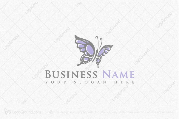 Logo for sale: Stylish Butterfly Logo