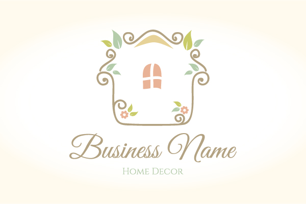 Home decor logo for Home interiors logo