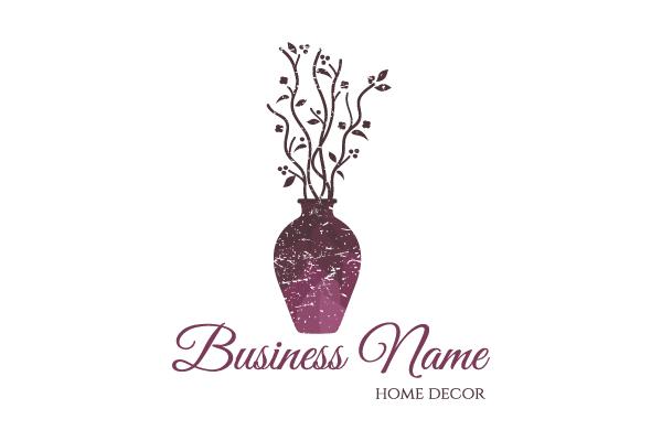 Vase home decor logo for Home decor logo 99design
