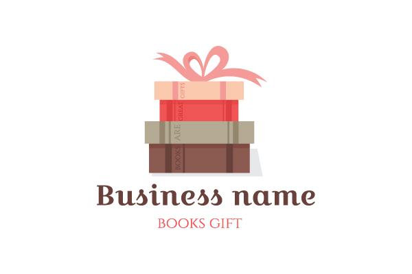 Books Gift Logo