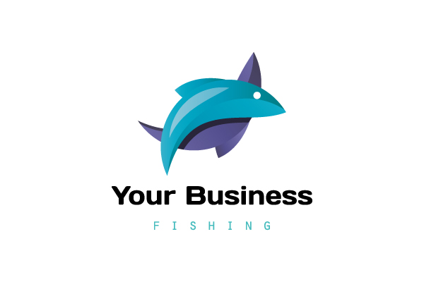 Logo for sale: Double Fish Logo