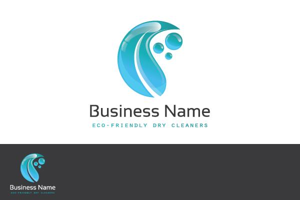 eco dry cleaner logo