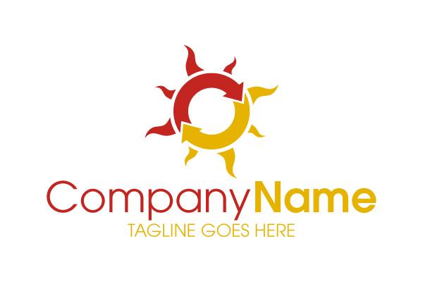 solar company logo