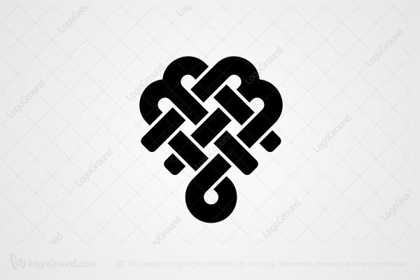 20 beautiful heart logos