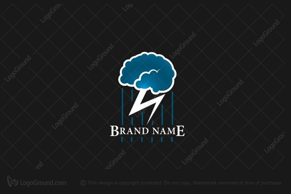 Logo for sale: Brain Storm Logo