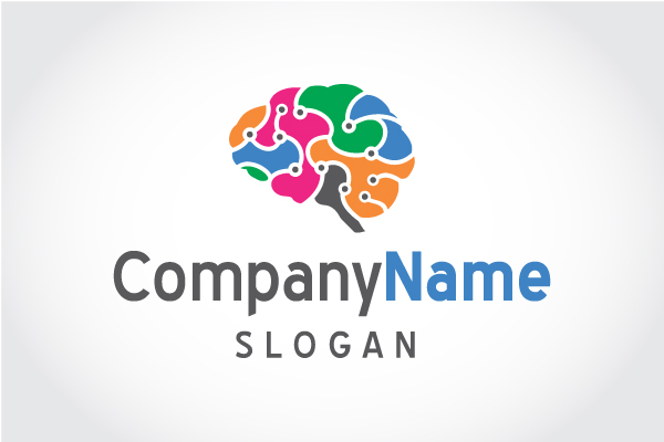 Logo for sale: Brain Connections.  Logo