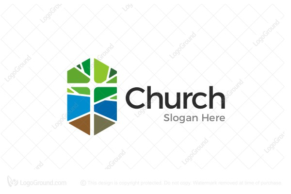 Church Logos, Tree Tree And Cross Church ...