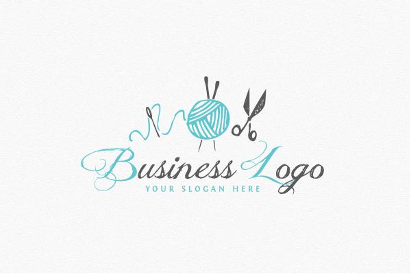Knitting Logo Ideas : Knitting logo diy