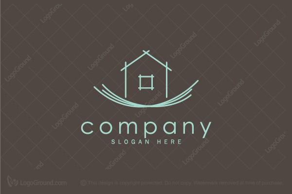 Logo For Sale: Home Nest Logo