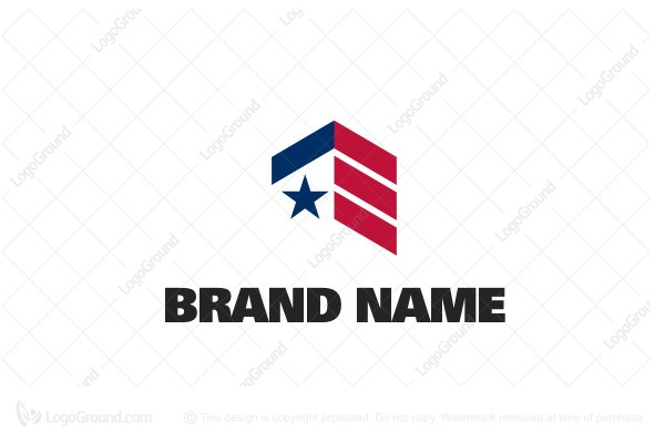 Logo for sale: American Realty Logo