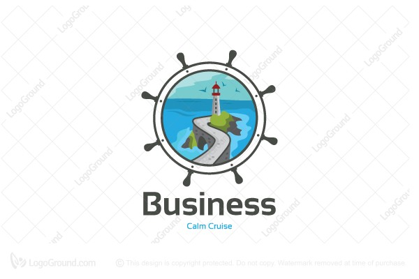 Logo for sale: Calm Cruise Logo