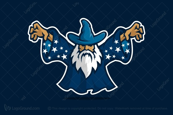 The wizard logo for Logo creation wizard