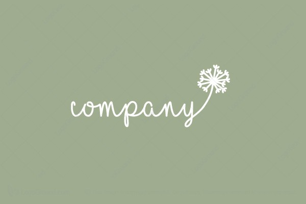 Dandelion Seed Logo
