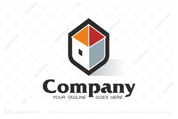 Logo for sale: Home Security Logo