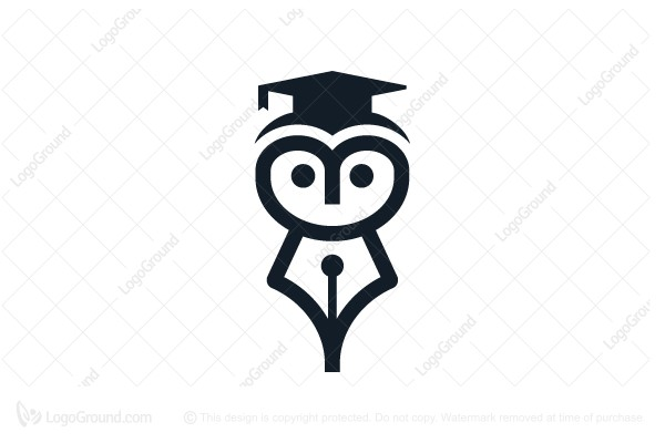 Owl Fountain Pen Logo