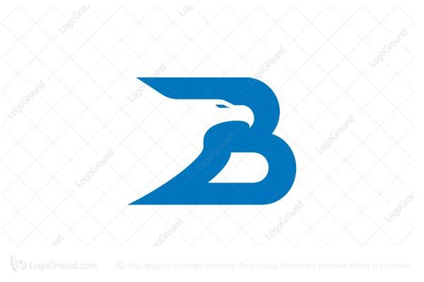 eagle letter b logo