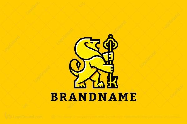 yellow lion logo - photo #12