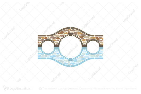 Logo for sale: Stone Bridge Logo