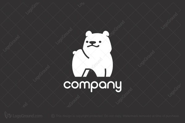 Logo for sale: White Bear Logo