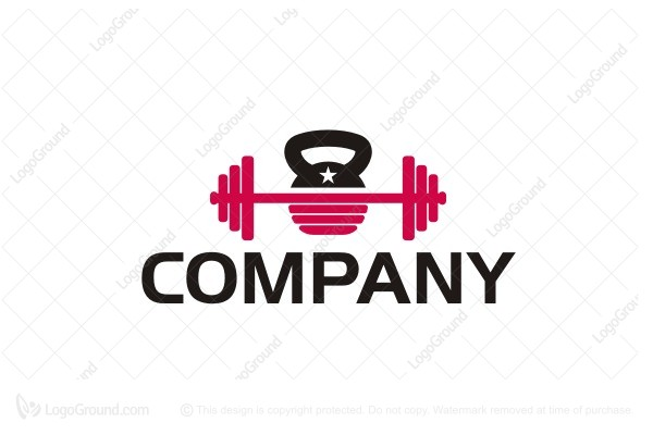 Weights Fitness Logo