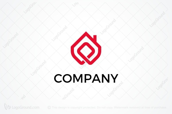 Logo for sale: Curved Construction Logo