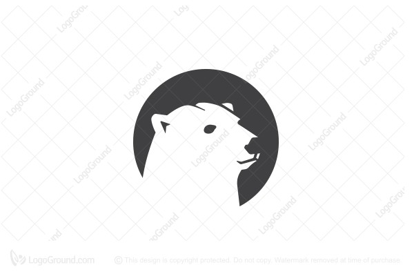 Logo for sale: Polar Bear Logo Design Logo