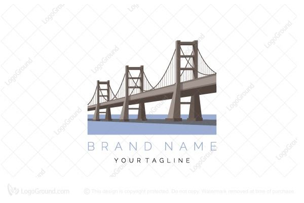 Logo for sale: Long Bridge  Logo