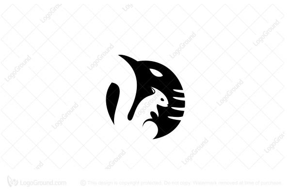Circle Elephant Logo