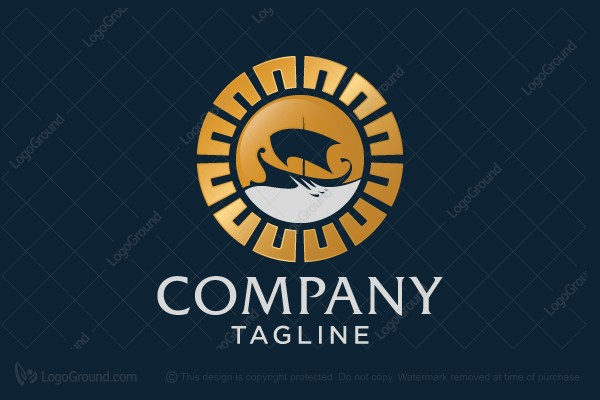 Logo for sale: Greek Ship Logo