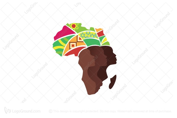 Logo for sale: African Lady Logo