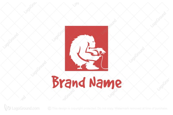 Logo for sale: Giant Playing Game Logo