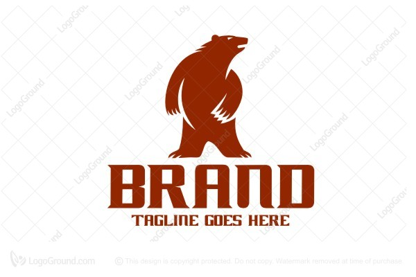 Logo for sale: Bear Brand Logo