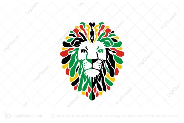 Logo for sale: Lion Art Logo