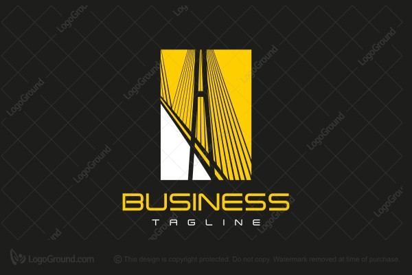 Logo for sale: Bridge Logo