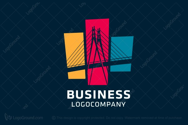 Logo for sale: Bridge Management Company Logo