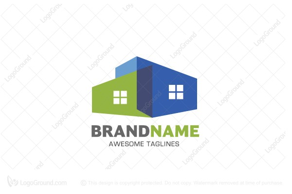 Modern house logo for Modern house logo