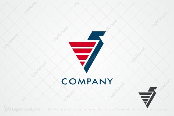 Logo for sale: Triangle Griffin Logo