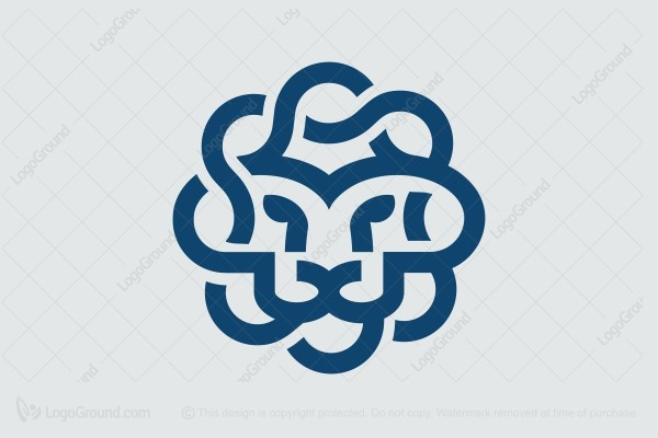 Logo for sale: Simple Lion Logo