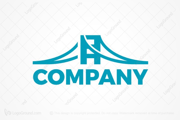 Logo for sale: Suspension Bridge Logo