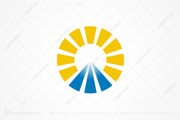 Logo for sale: Mountain Sun Logo