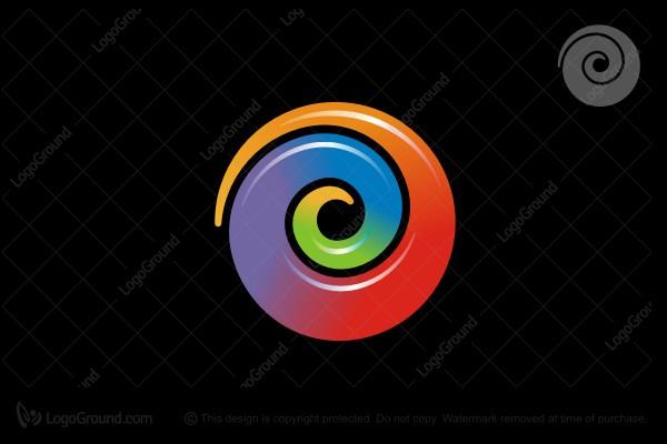 Logo for sale: Spiral Logo