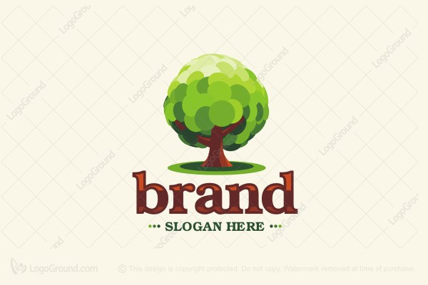 Logo for sale: Oak Tree Logo