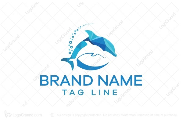 Logo for sale: Dolphins Logo